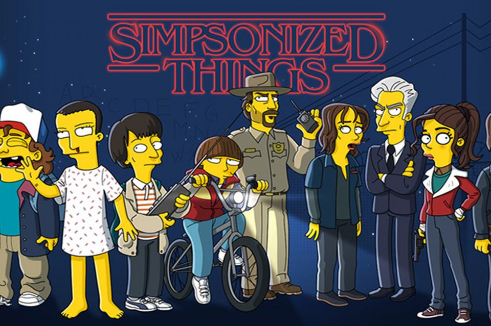 Halloween Les Simpson : Un nouveau movie et un épisode Stranger Things !