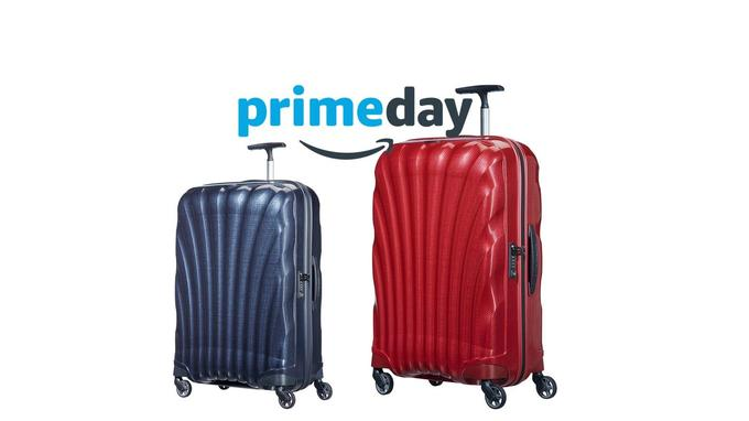 Bagage Top Day Amazon: valises Samsonite jusqu'à -54%!